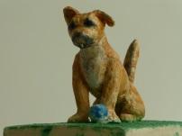 SOLD! Detail: Angel Dog – Baller Extraordinaire